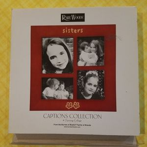 Rare Woods SISTERS Picture Frame